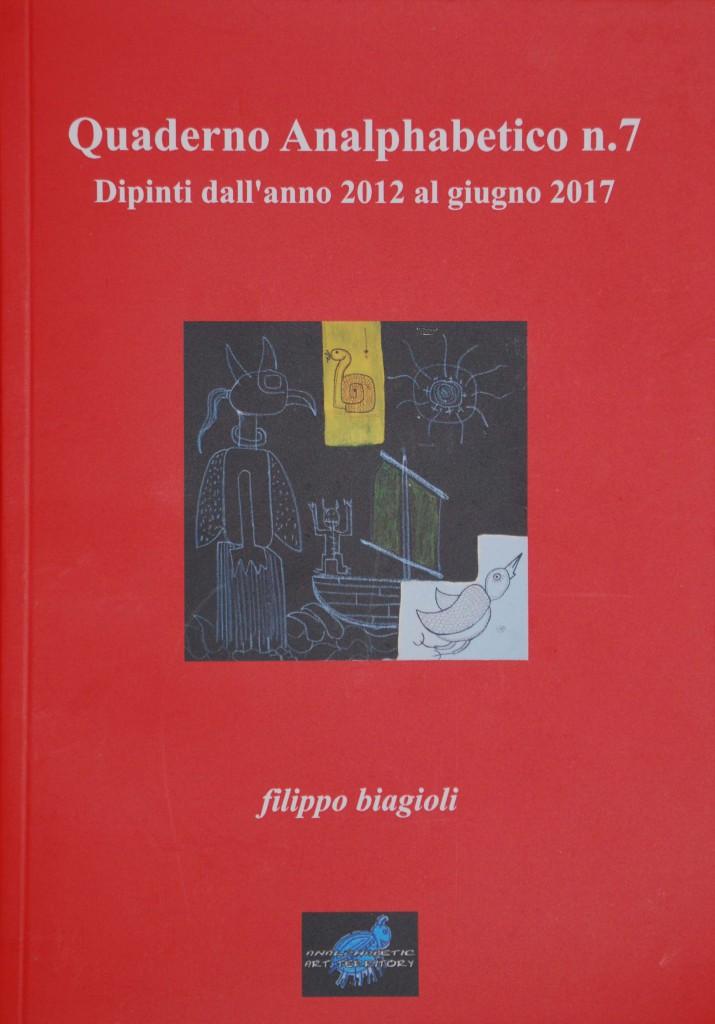quaderno n 7 dipinti filippo biagioli