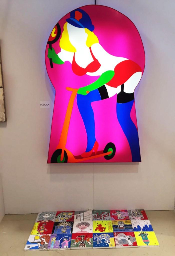 Arte Fiera Forli galleria viadeimercati filippo biagioli e marco lodola