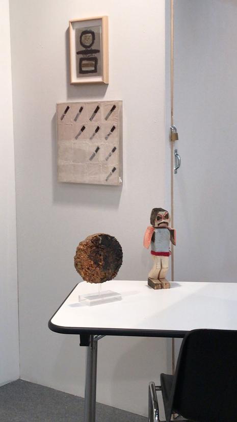 filippo biagioli stand borromeo arte genova 2018 1