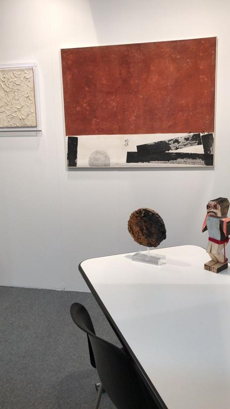 filippo biagioli stand borromeo arte genova 2018 4