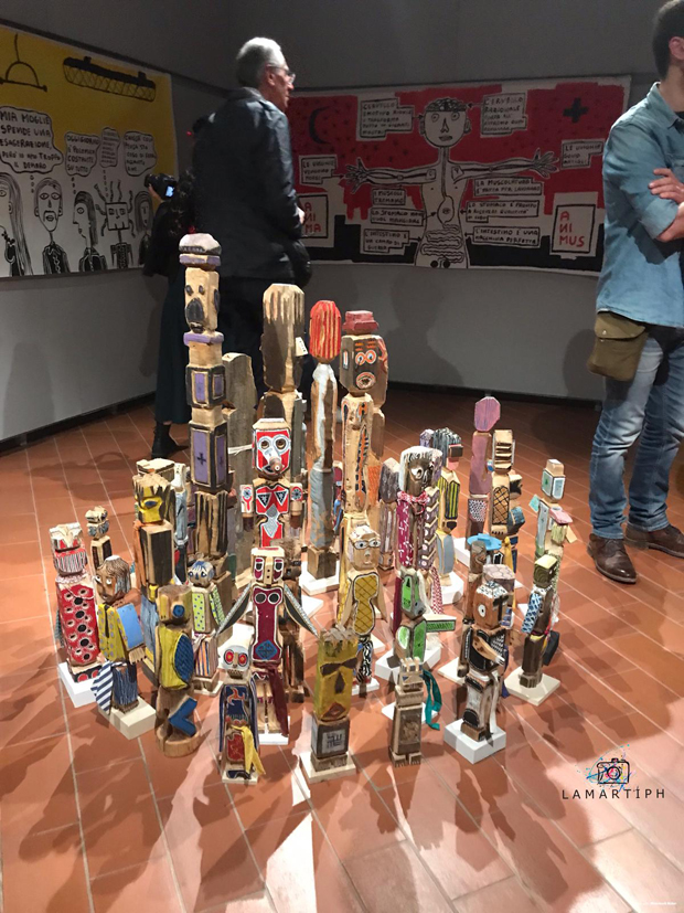Filippo Biagioli mostra Anima Animus Anime Museo Arte Contemporanea e del 900