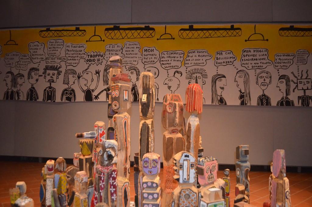 Filippo Biagioli mostra Anima Animus Anime Museo Arte Contemporanea e del 900 c