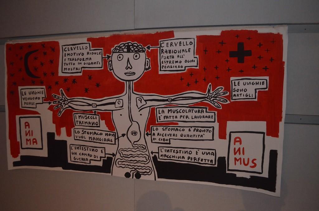 Filippo Biagioli mostra Anima Animus Anime Museo Arte Contemporanea e del 900 d
