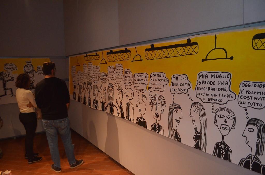 Filippo Biagioli mostra Anima Animus Anime Museo Arte Contemporanea e del 900 f