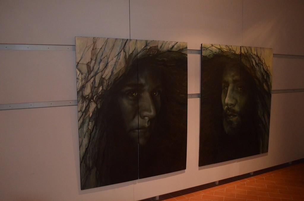 Filippo Biagioli mostra Anima Animus Anime Museo Arte Contemporanea e del 900 i