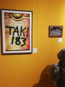 The Best mostra al museo MOCA Montecatini Terme Taki183 e Blub