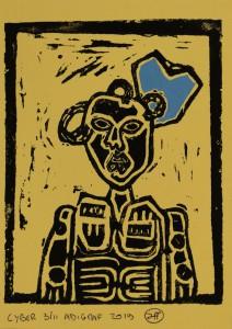 Printcard Wrocław uncanny valley  Filippo Biagioli