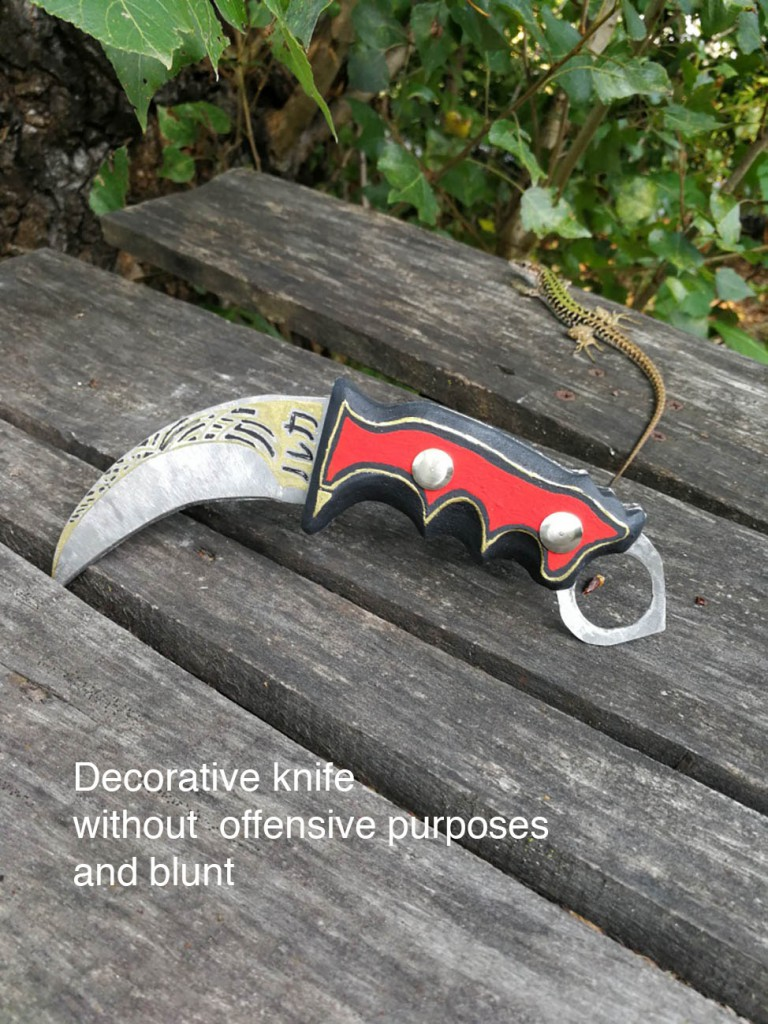 Decorative knife Filippo Biagioli
