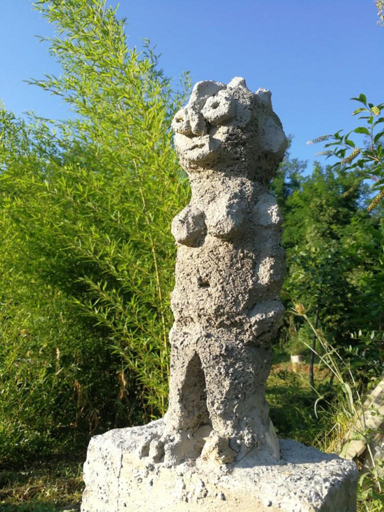 Filippo Biagioli concrete sculpture 1