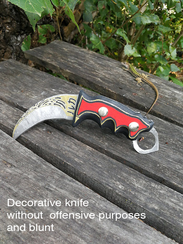 Decorative knife & Dottrina iniziati