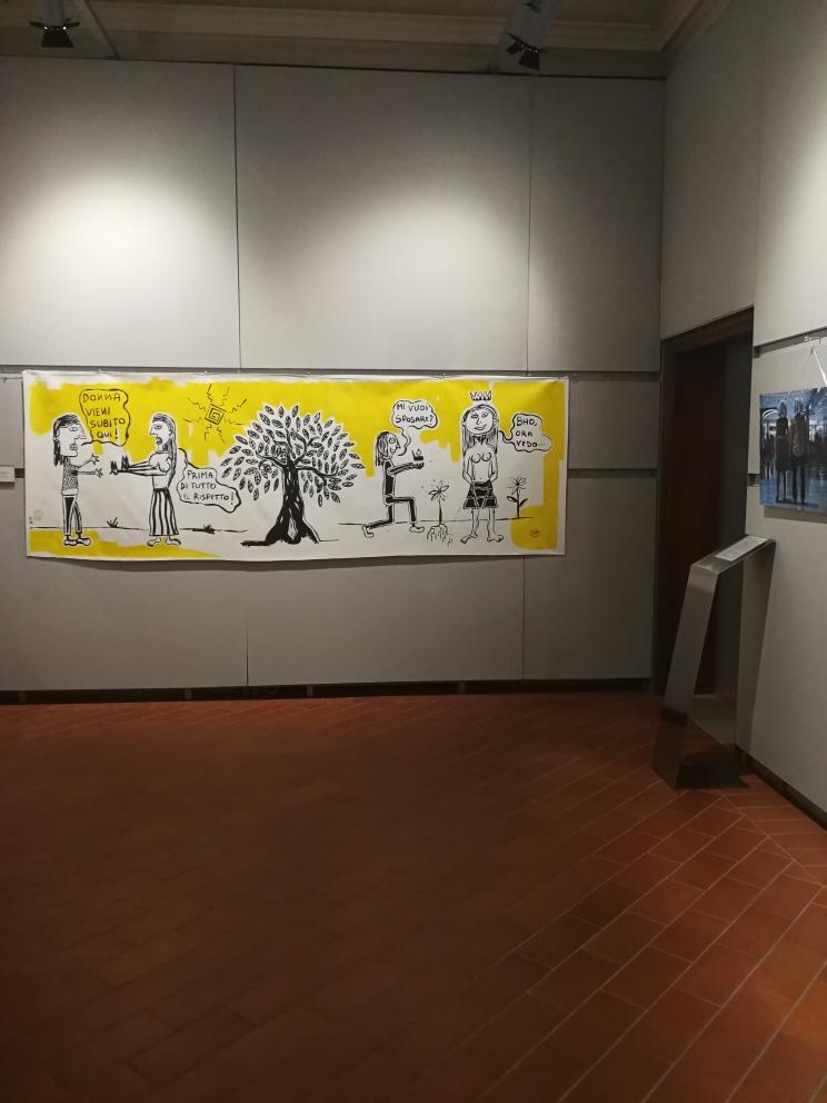 Alla fine ai miei occhi eri destinata Museo MACn Monsummano Terme Filippo Biagioli 1