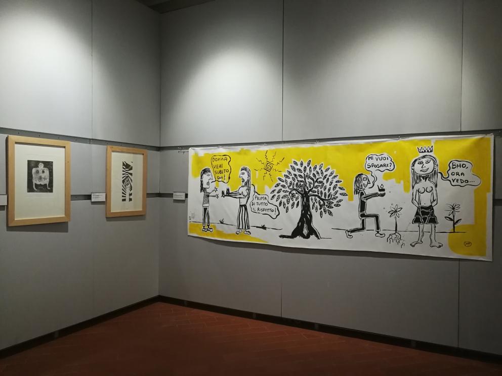 Alla fine ai miei occhi eri destinata Museo MACn Monsummano Terme Filippo Biagioli 3