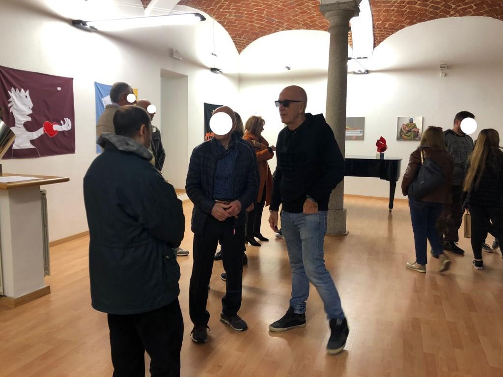 SPA mostra ViadeiMercati Vercelli Filippo Biagioli Pep Marchegiani Xhixha 1