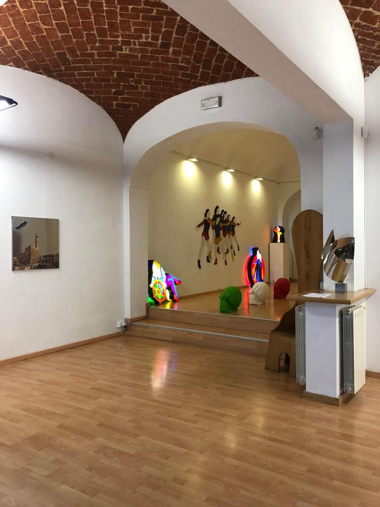SPA mostra ViadeiMercati Vercelli Marco Lodola Ceroli Xhixha Pep Marchegiani Craking Art