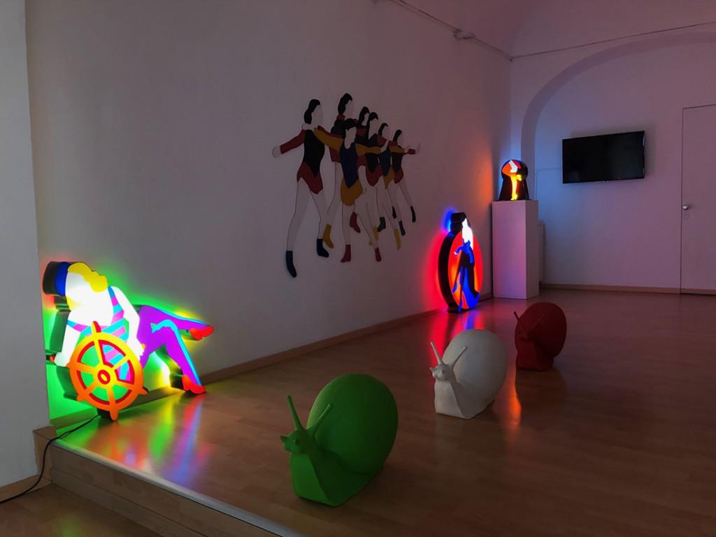 SPA mostra ViadeiMercati Vercelli Marco Lodola Craking Art