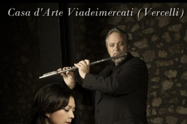 Finissage mostra SPA, concerto del duo Mastrangelo e Matsui a Casa d'Arte Viadeimercati Vercelli