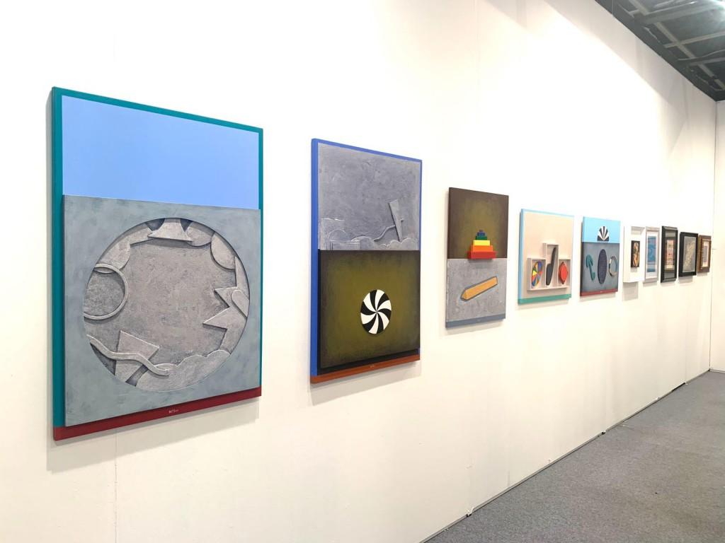 Enrico Art Suite Del Pezzo Garcia Rossi Veronesi Calderara Arte Padova 2019