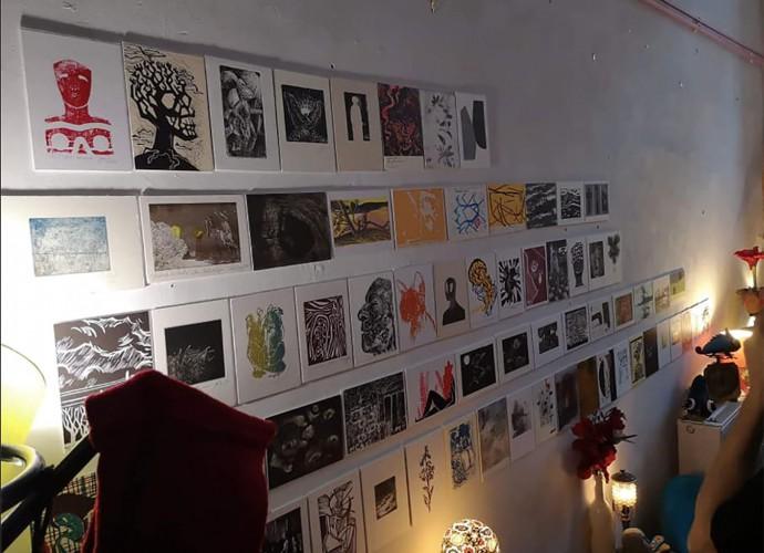 Macondo Gallery Printcard Wroclaw Filippo Biagioli 2019