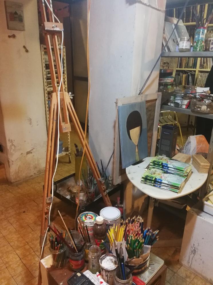 Visita allo studio di Paolo Beneforti e Silvia Beneforti 4