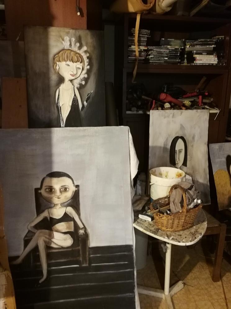 Visita allo studio di Paolo Beneforti e Silvia Beneforti 5
