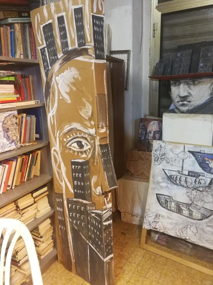 Visita allo studio di Paolo Beneforti e Silvia Beneforti 9
