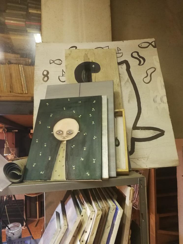Visita allo studio di Paolo Beneforti e Silvia Beneforti
