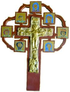 croce della passione 46 x 35 x 15 2017