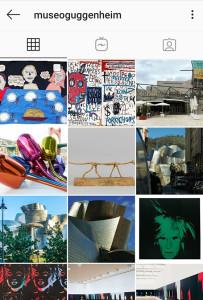 filippo biagioli stoffa su guggenheim museum bilbao instagram profilo