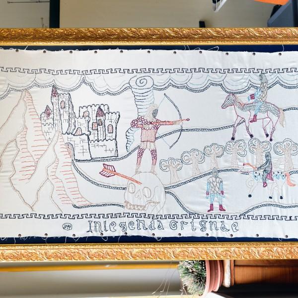 La Leggenda della Grigna per Civico Museo Setificio Monti di Abbadia Lariana (LC)