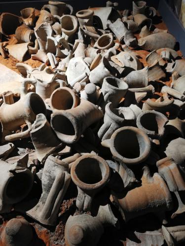 Anfore Museo Archeologico Cecina Livorno Italia