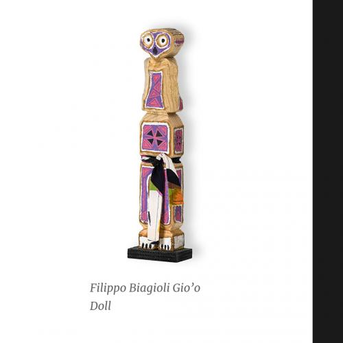 Gio'o Doll in asta #arte #arterituale #artetribaleeuropea #art #sculpture #ritualsculpture #wood
