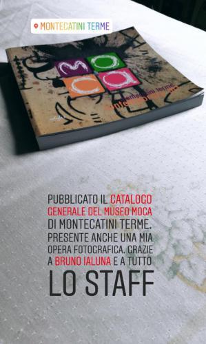 Catalogo generale delle opere del Mo.ca Museo di Arte Contemporanea di Montecatini Terme. Pubblicata una mia opera.