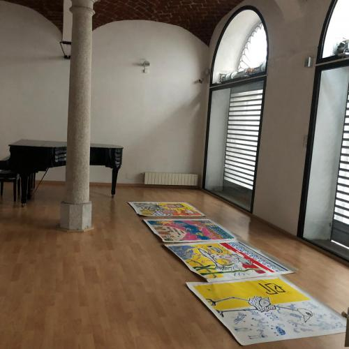 Work in progress collettiva Galleria ViadeiMercati Vercelli