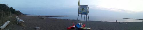Panorama Cecina mare