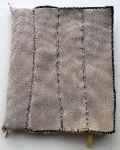filippo biagioli libro stoffa fatto a mano handmade fabric book cover